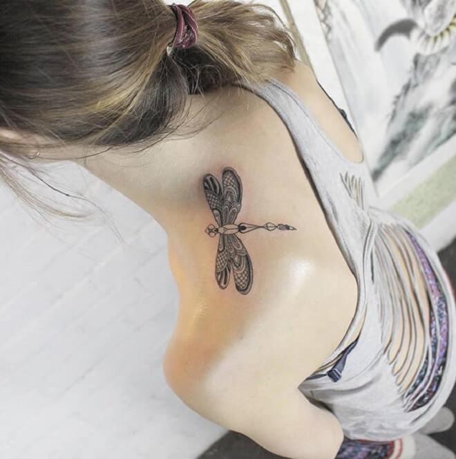 Popular Dragonfly Tattoo