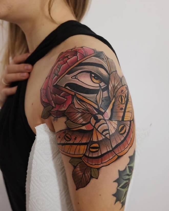 Popular Eye Tattoo