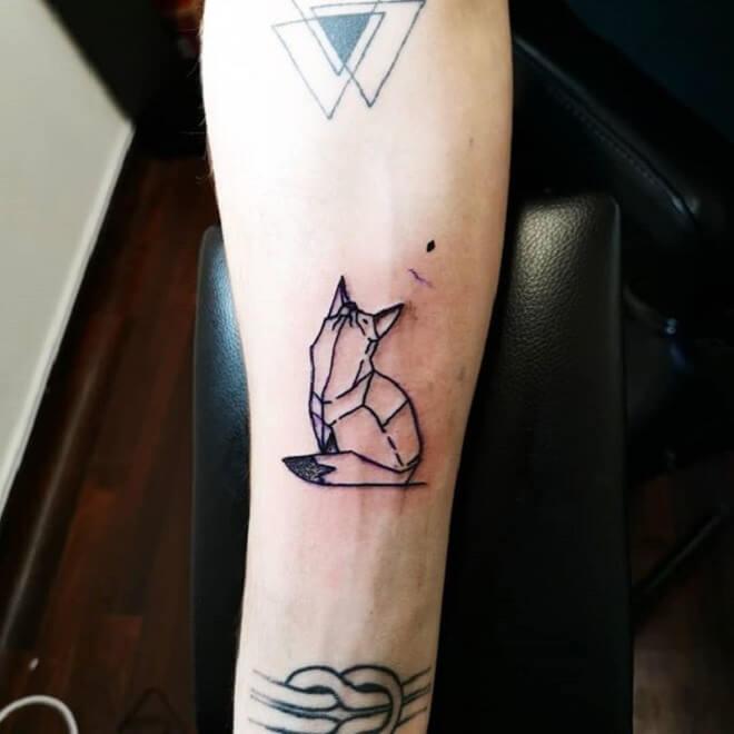 Popular Geometric Tattoo