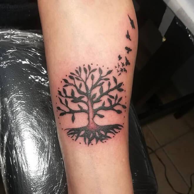 Popular Tree Tattoo