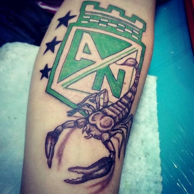 Scorpion Sport Tattoo