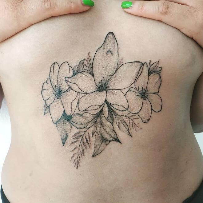 Scratch Stomach Tattoo
