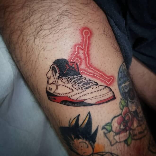 Shoes Sport Tattoo