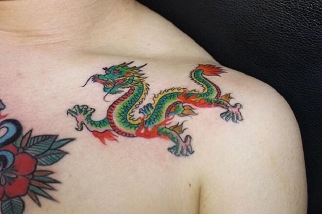 Small Dragon Tattoo