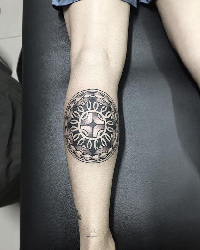 Small Maori Tattoo