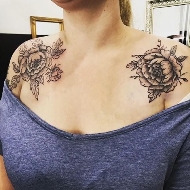 Solder Flower Tattoo