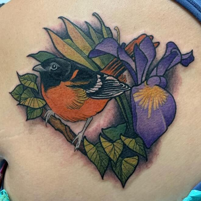 Sparrow Archive Tattoo