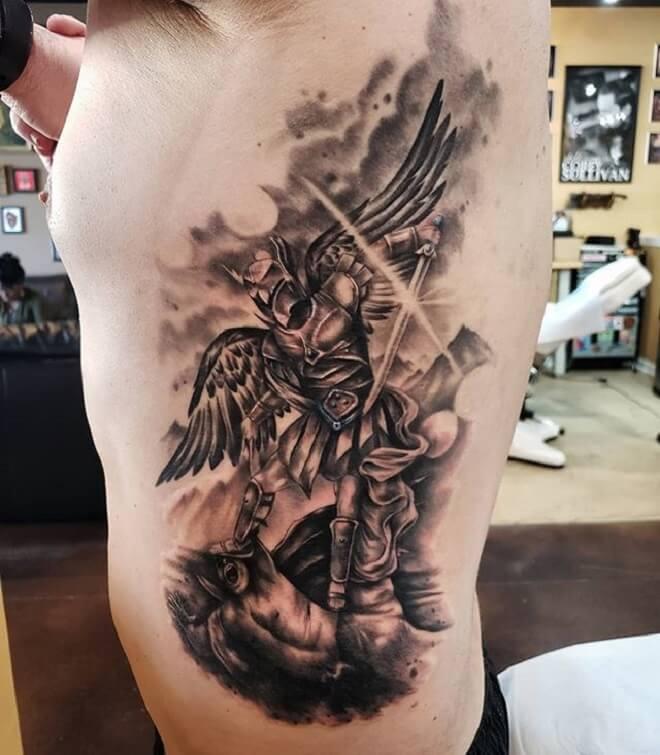 St Michael Tattoo Art