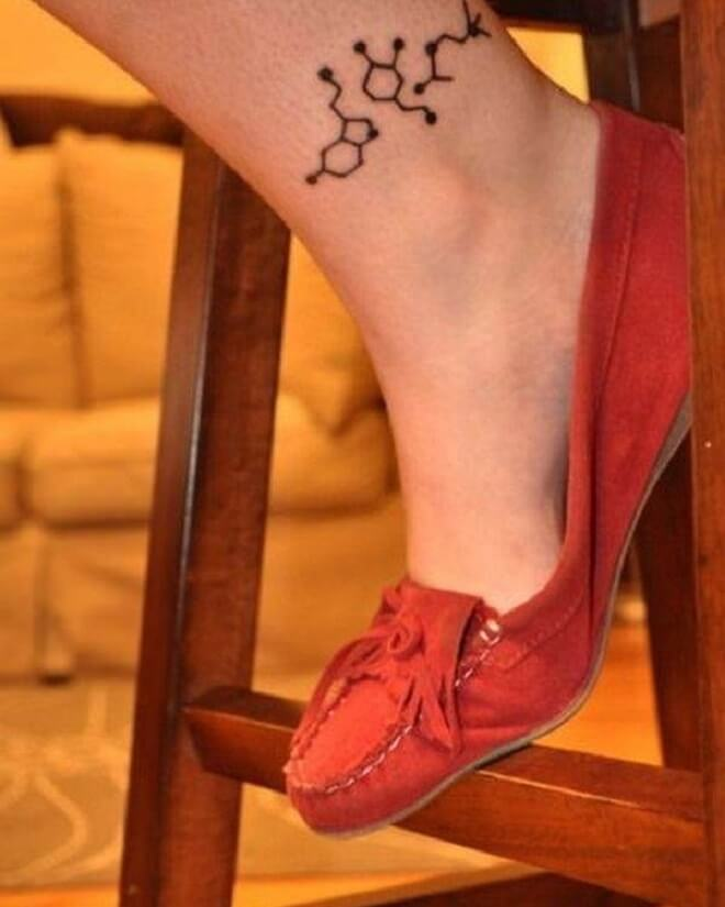 Super Ankle Tattoo