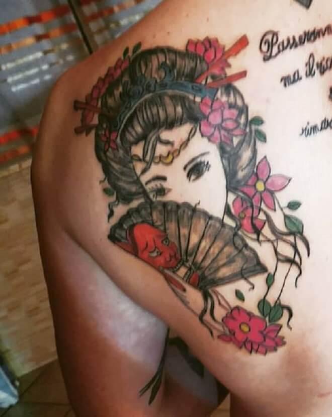 Super Geisha Tattoo