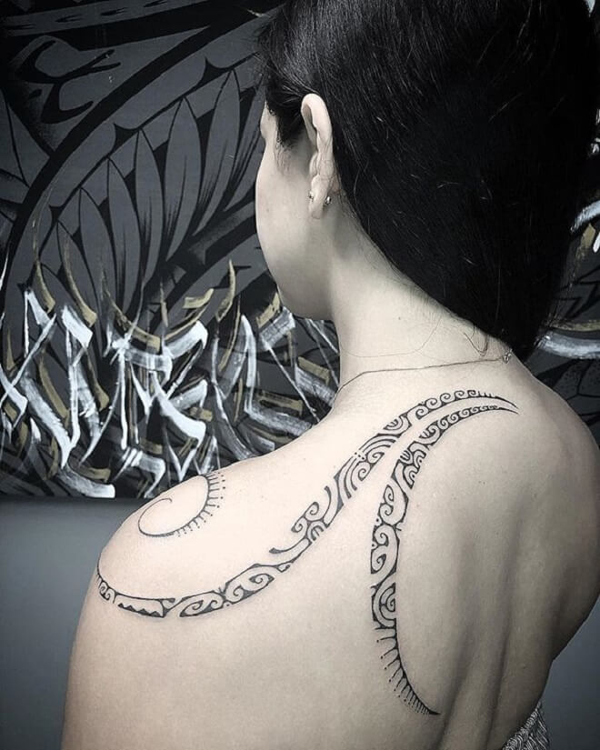 Super Polynesian Tattoo