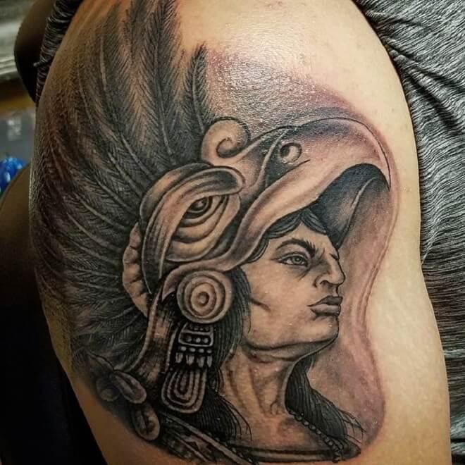Supreme Aztec Tattoo