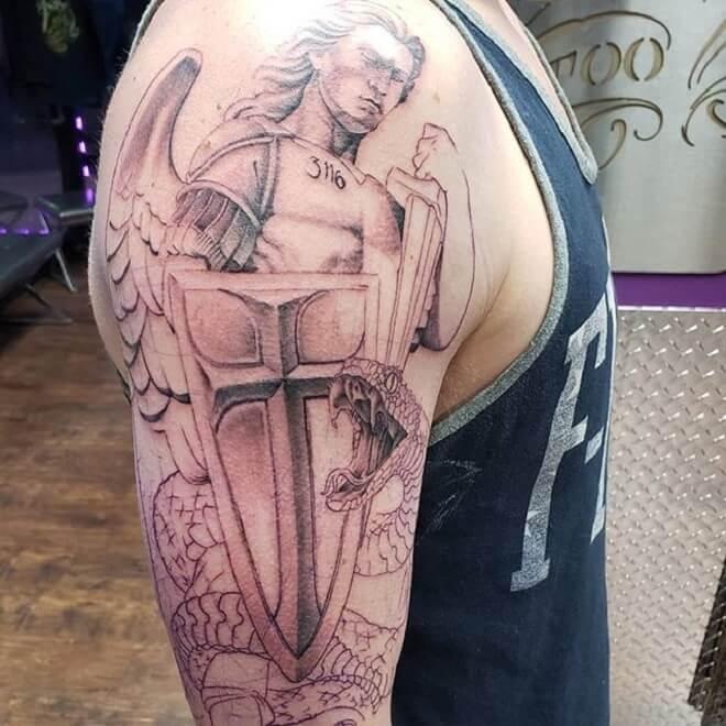 Supreme Michael Tattoo