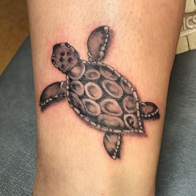 Supreme Turtle Tattoo