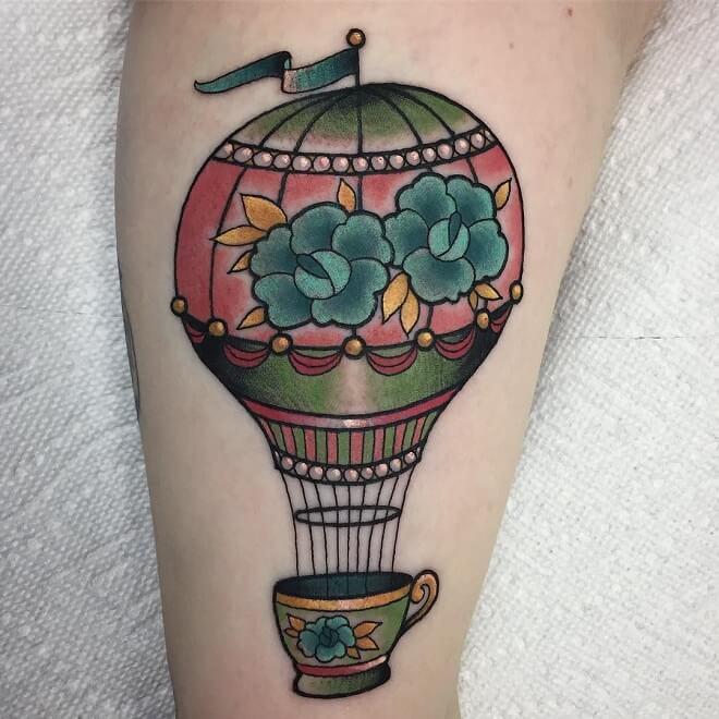 Tea Cup Archive Tattoo