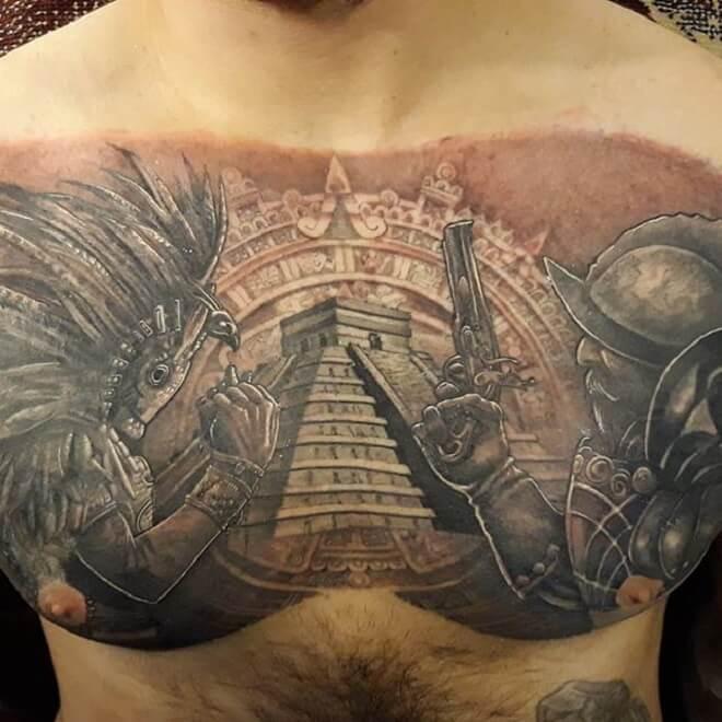 Tigerdo Aztec Tattoo