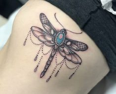 Top Dragonfly Tattoo