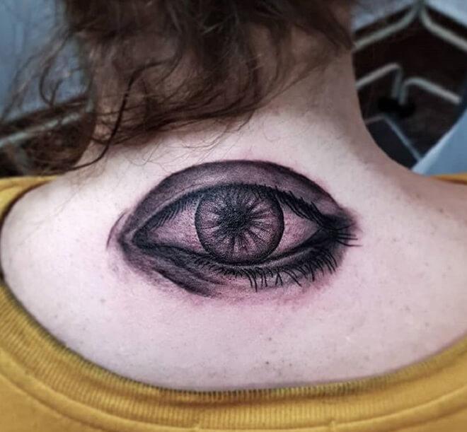 Top Eye Tattoo