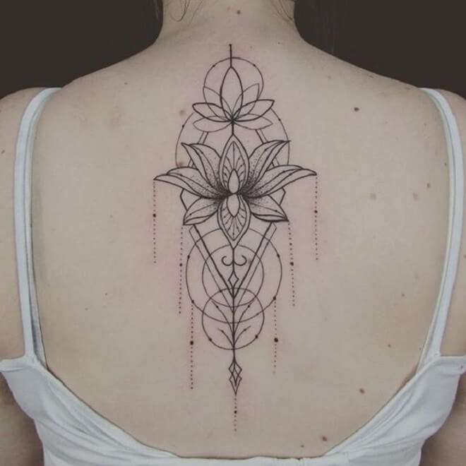 Top Geometric Tattoo