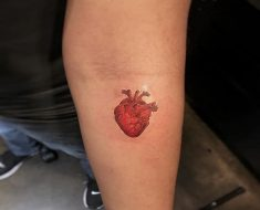 Top Heart Tattoo
