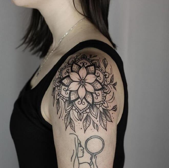 Top Mandala Tattoo