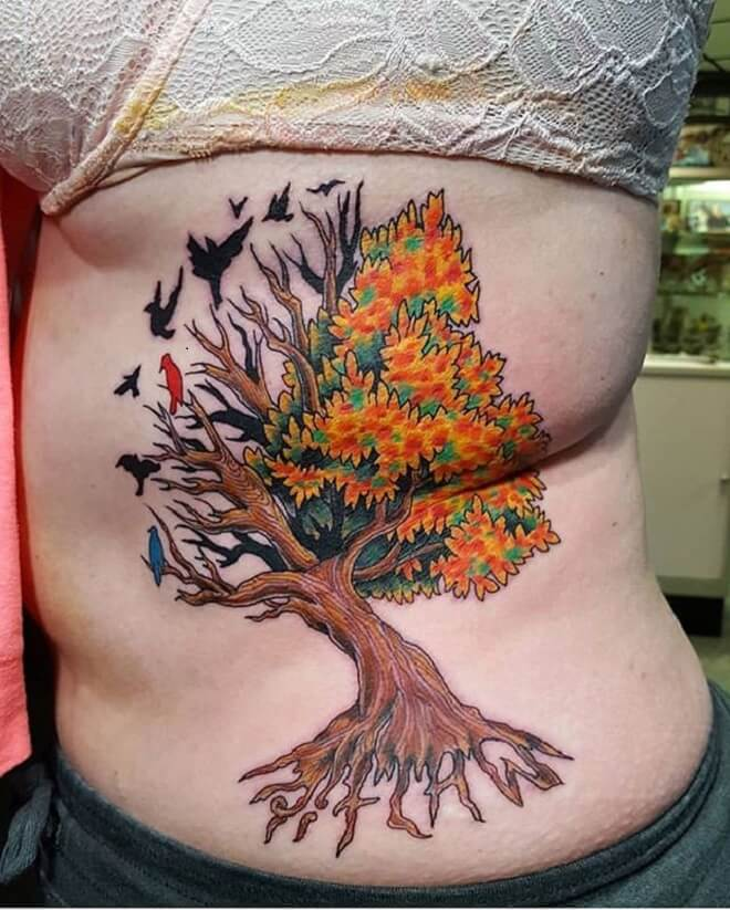 Top Tree of Life Tattoo