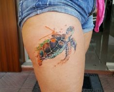 Top Turtle Tattoo