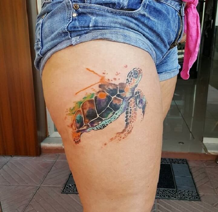 Top Turtle Tattoo