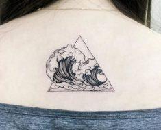 Top Wave Tattoo