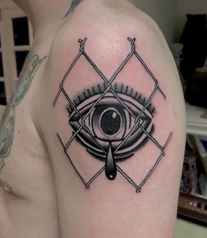 Traditional Eye Tattoo