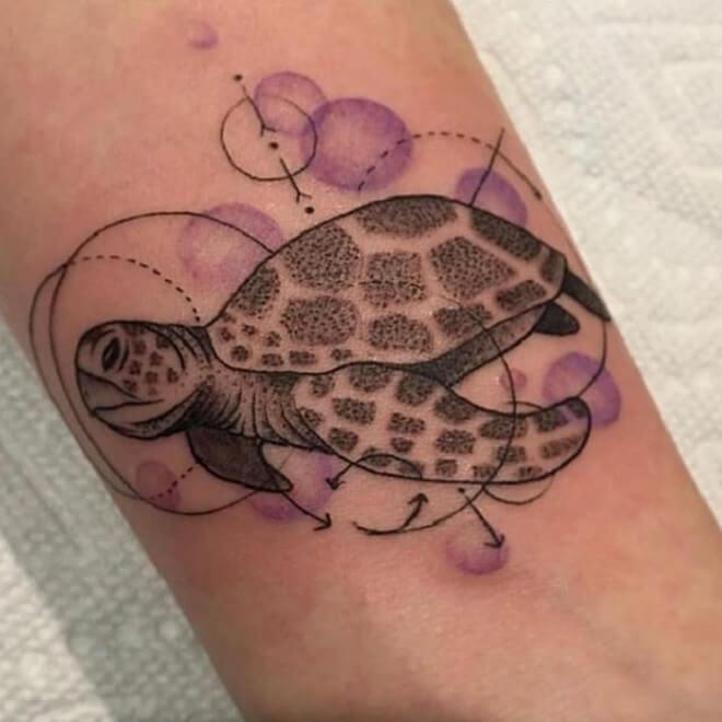 Turtle Tattoo Art