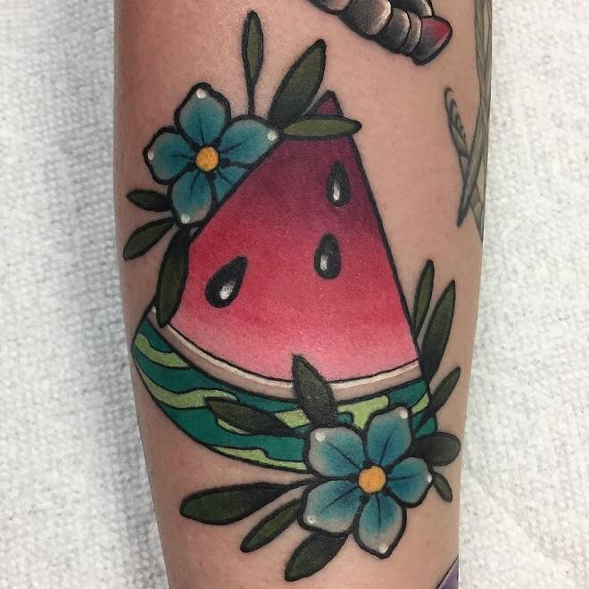 Watermelon Archive Tattoo