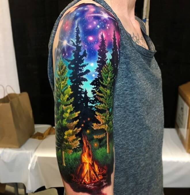 Amazing Colorful Tattoo