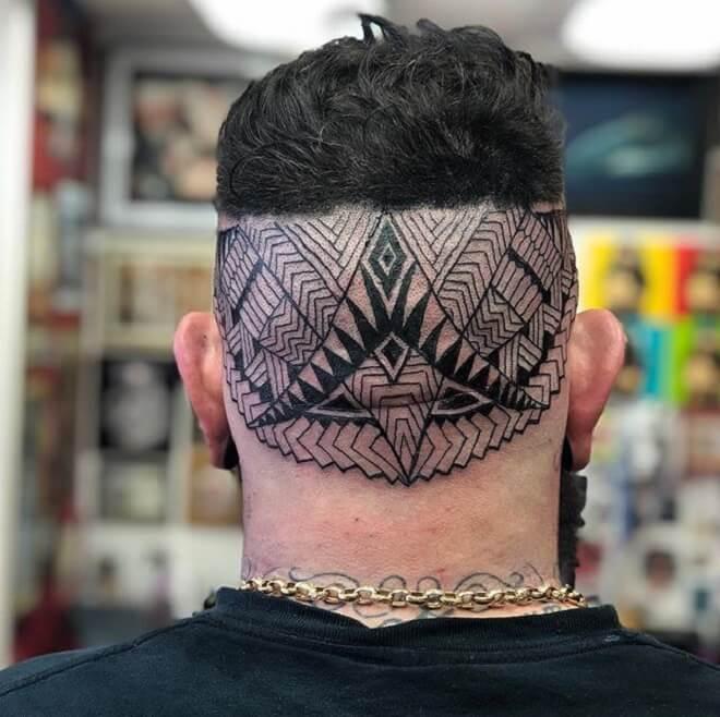 Awesome Head Tattoo