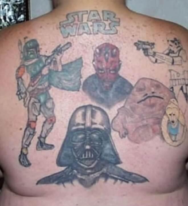 Back Bad Tattoo