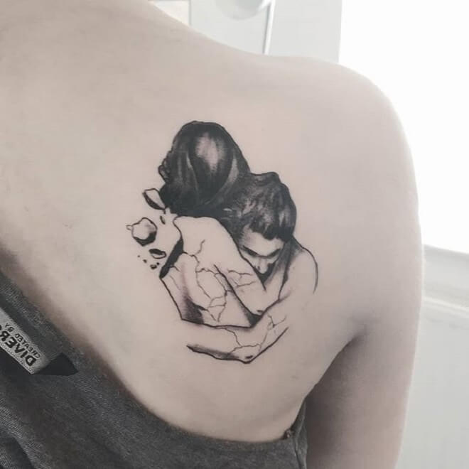 Back Lover Tattoo