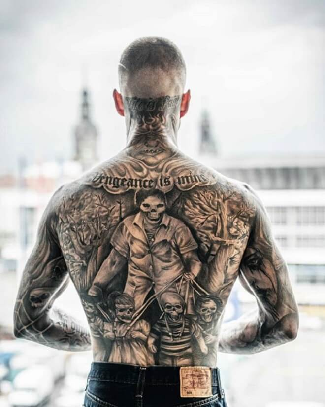 Back Tattoo for Men