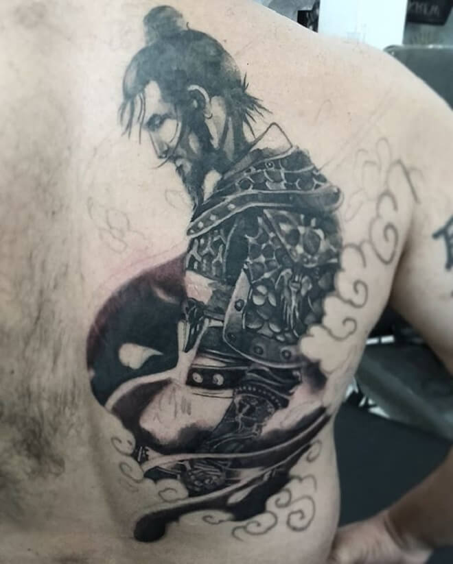 Beautiful Samurai Tattoo
