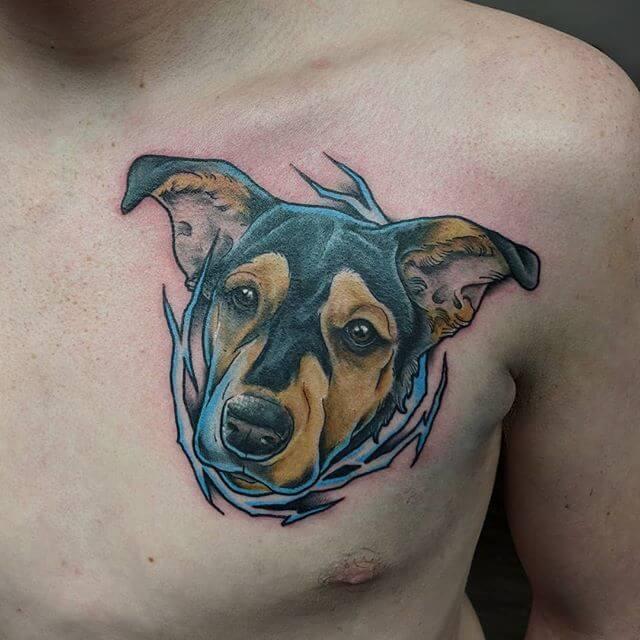 Beautiful Traditional Tattoo