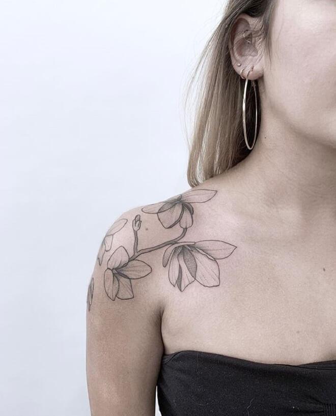 Best Shoulder Tattoo