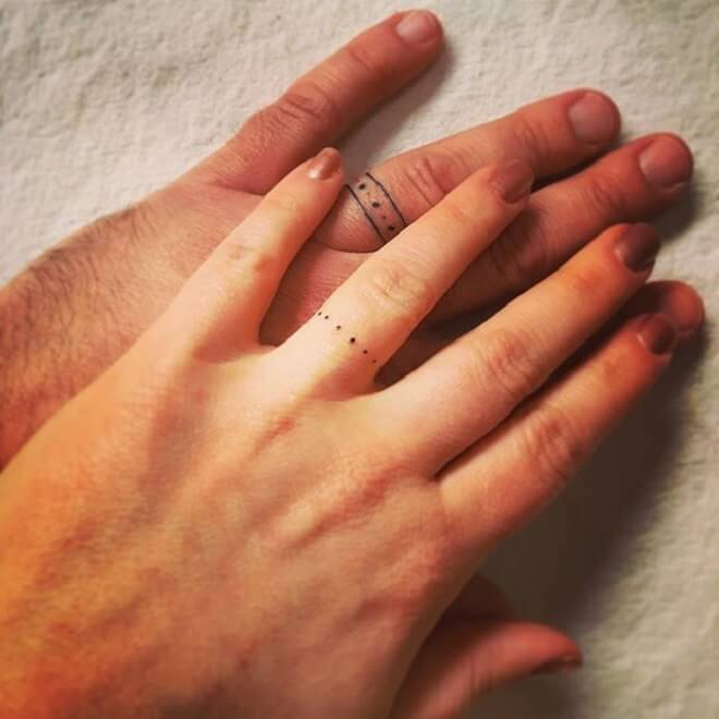 Best Wedding Ring Tattoos