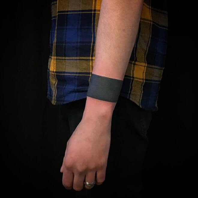 Black Armband Tattoo
