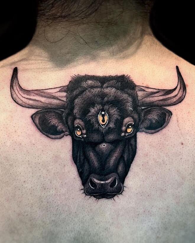 Black Bull Tattoo