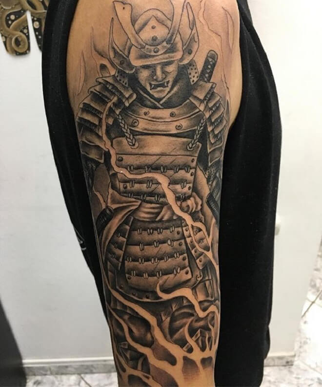 Black and Grey Tattoo
