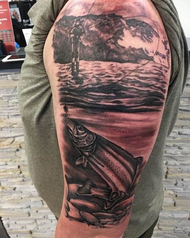 Body Fishing Tattoo