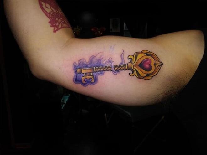 Body Key Tattoo