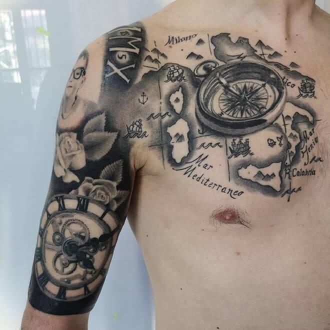 Clock Tattoo Artist