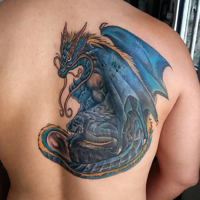 Color Back Tattoo