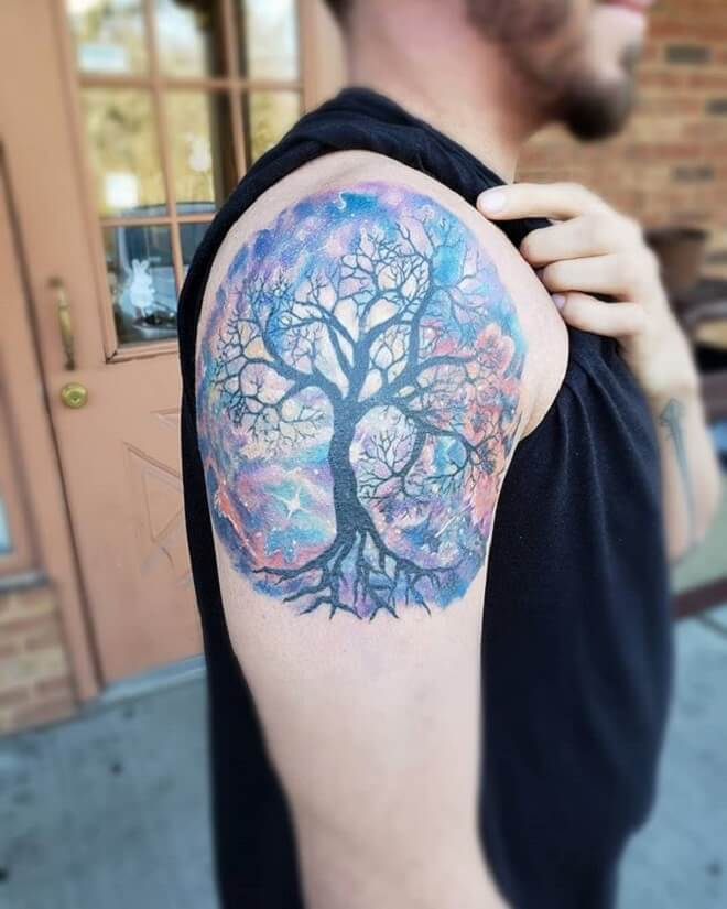Colorful Tattoo Art