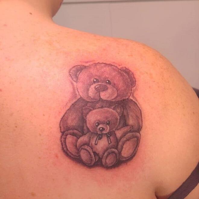 Cute Shoulder Tattoo